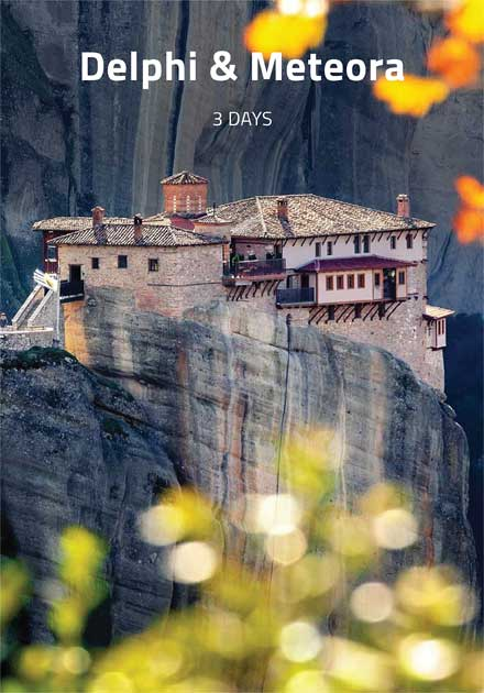 Organized Tours Greece, Delphi, Meteora