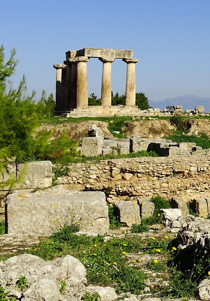 Following the steps of Saint Paul, Ancient Corinth