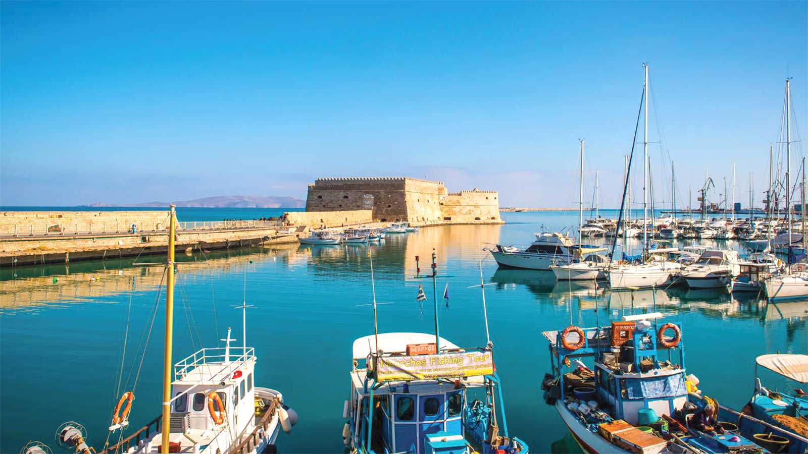 Heraklion Crete Greece