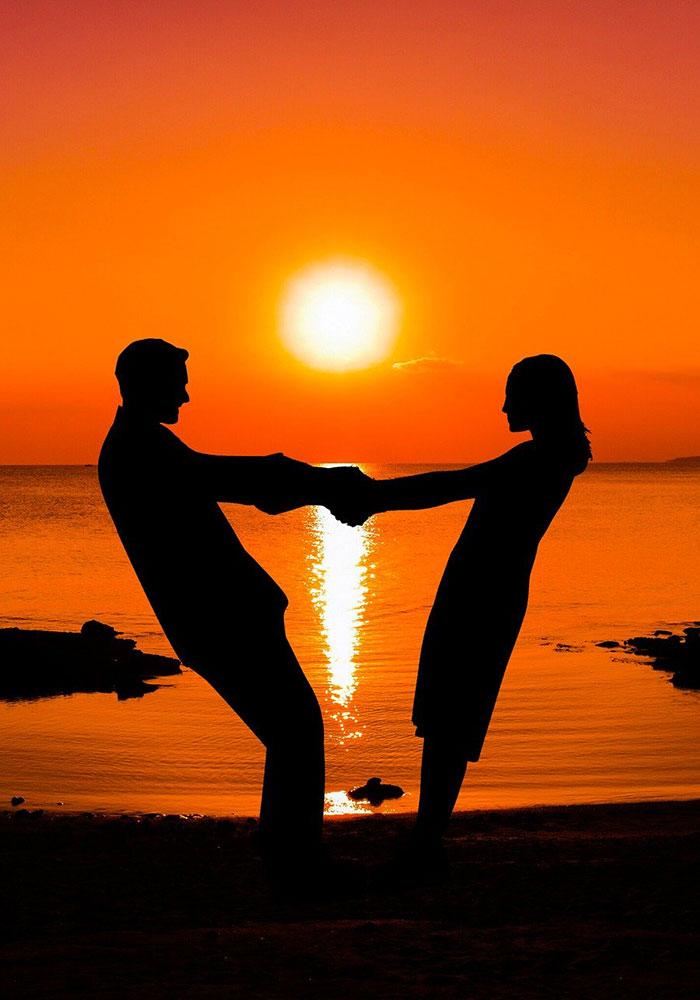 Honeymoon in Greek Ilsands