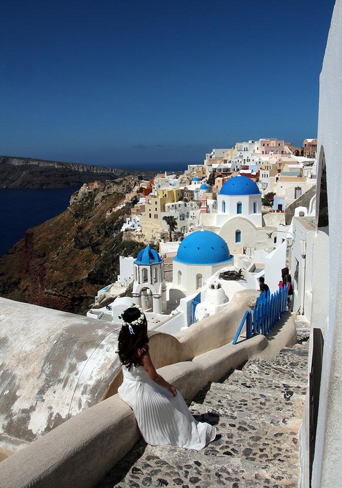 Wedding in Greek islands, Santorini, Athens