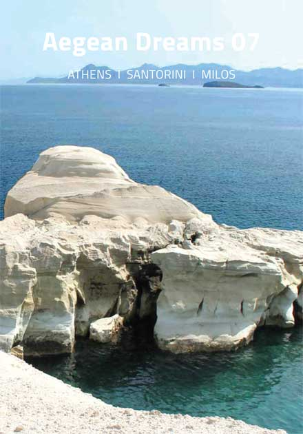 Aegean Dreams 07 Tour, Athens, Santorini, Milos, Greece