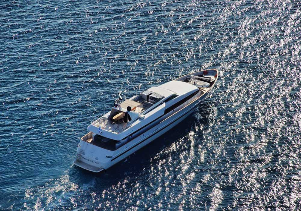 M/Y Obsessions - Cruises in Greek islands