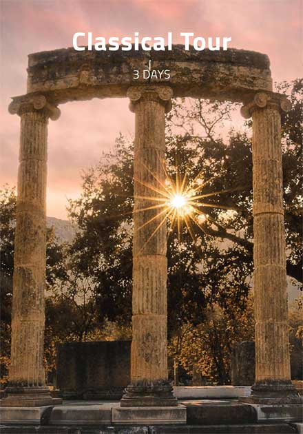 Organized Tours Greece, Classical tour, Epidavros | Mycenae, Olympia, Delphi