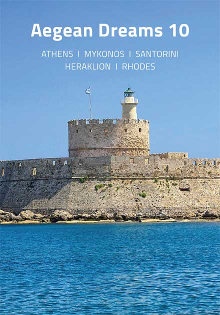 Aegean Dreams 10 Tour, Athens, Mykonos, Santorini, Heraklion, Rhodes, Greece