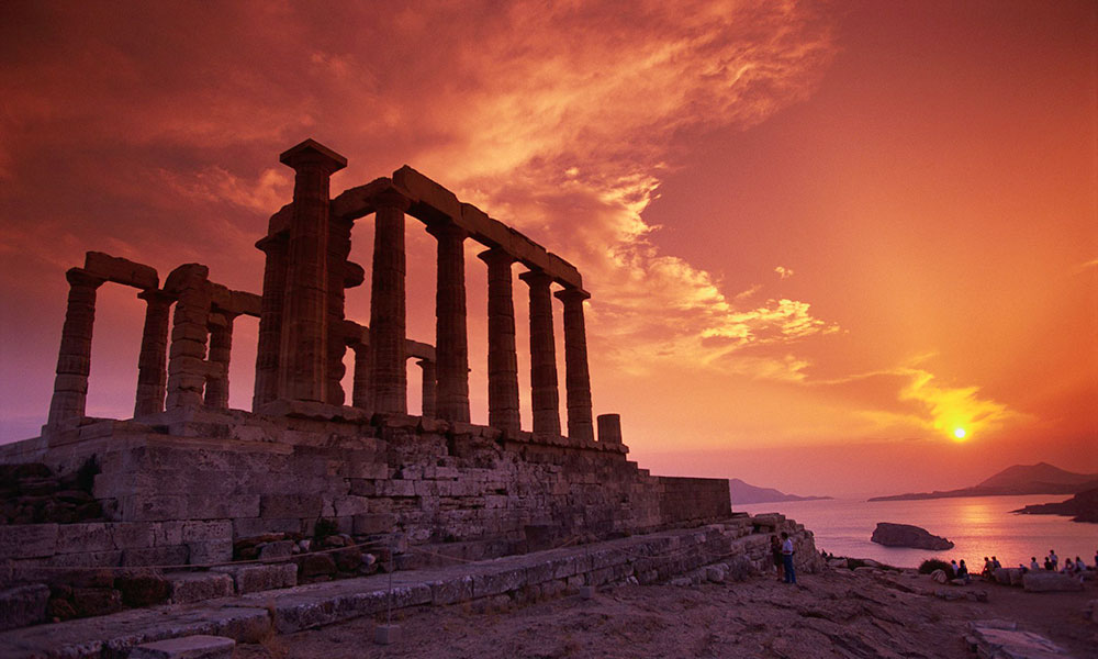 Cape Sounion, Poseidon temple