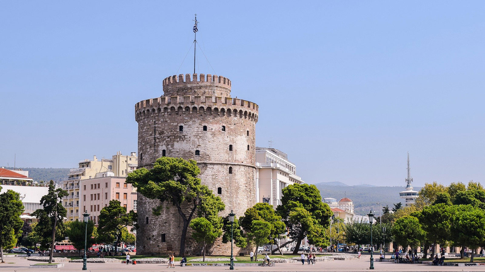 Thessaloniki, white tower