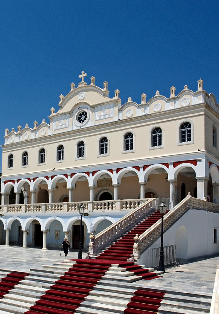 Tours in Greece, Tinos, Panagia