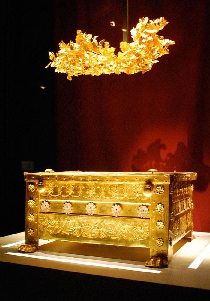 Vergina Greece, Philip II larnax