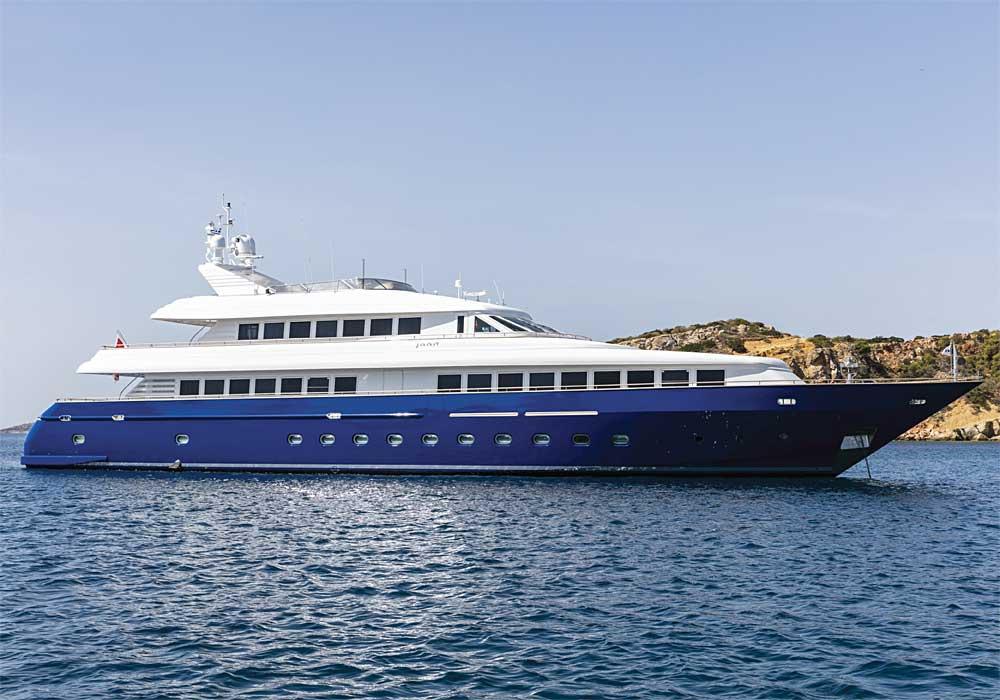 M/Y Jaan - Greek islands cruises